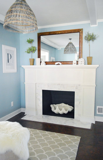 200 fireplace makeover marble tile