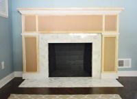 Our Fireplace Makeover: Building A New Mantel