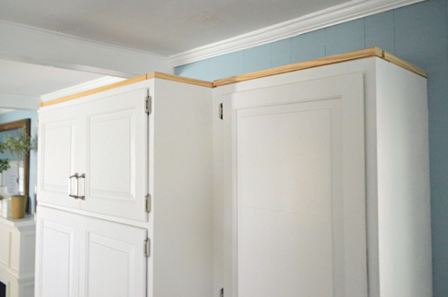 Then We Measured (twice), Cut, And Installed The Molding The Exact Same Way  We That Did Our Ceiling. You Can Read A Bunch Of Step By Step Tips On That  Here, ...