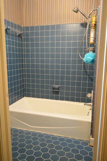 remove an old sliding shower door