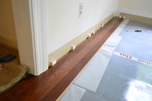 How To Install Oak Hardwood Floors Young House Love