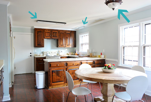 Three New Kitchen Lights Young House Love