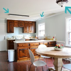 Light For Kitchen Small Lighting Ideas Three New Lights Young House Love