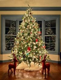 Making Homemade Wood Slice Christmas Ornaments