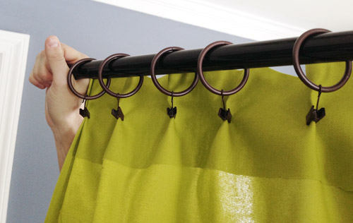 making pleated curtain panels the easy