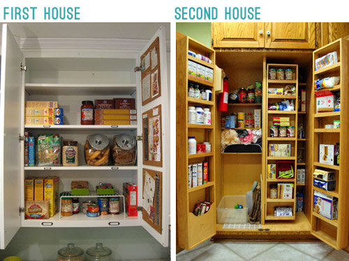 Adding Extra Shelves And A Microwave To The Pantry Young House Love