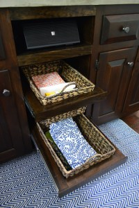 Adding DIYed Pull Out Basket Drawers In The Kitchen ...