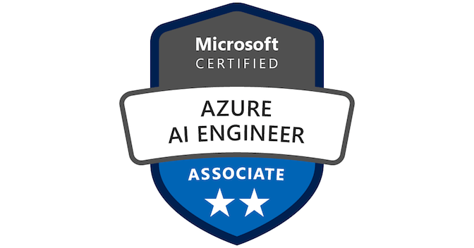 Microsoft Certified: Azure AI Engineer Associate - Acclaim