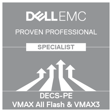 Specialist  Platform Engineer VMAX All Flash and VMAX3 Version 10  Acclaim