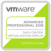 VMware Certified Advanced Professional - Data Center Virtualization Deployment 2018