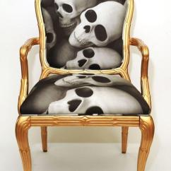 Skull Chair Black Wooden Spindle The Trended Youtrendit