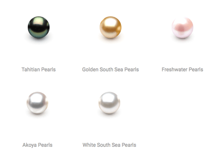 South Sea Pearls: Black & White South Sea Pearls