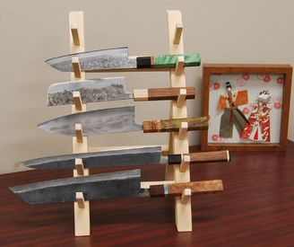 japanese kitchen knife countertop options for 6pc rack 8 png