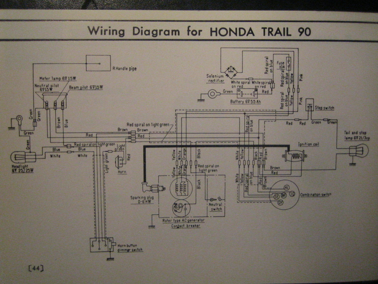 Wiring Diagram Honda Wave