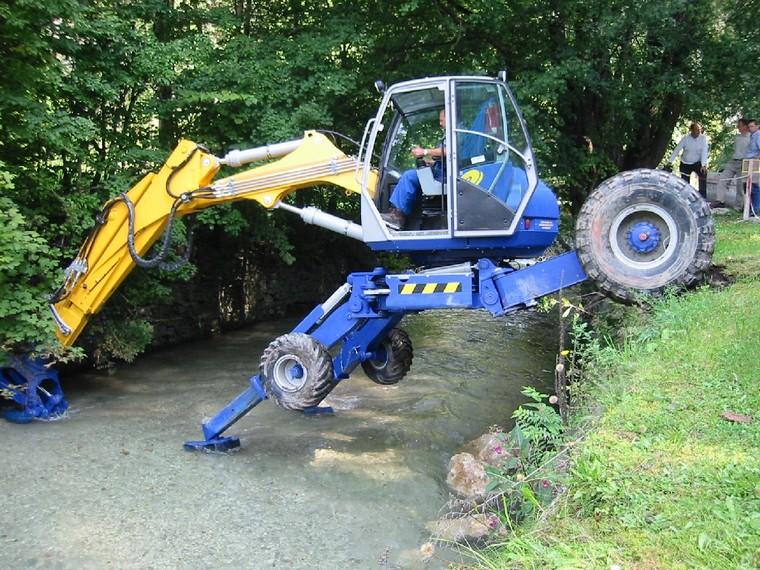 my spider excavator for