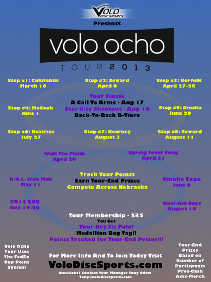 Volo Ocho poster