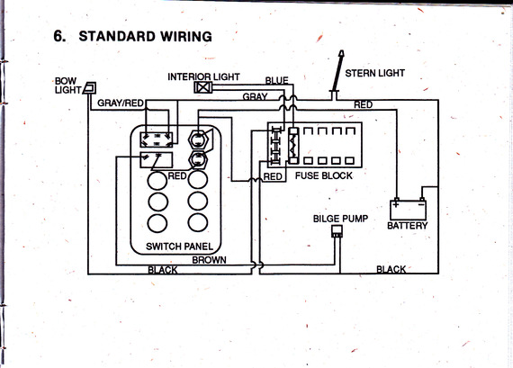Pin Generic-boat-wiring-diagram-by-silvertip on Pinterest
