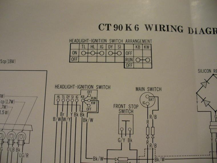 1971 Ct90 Wiring Diagram