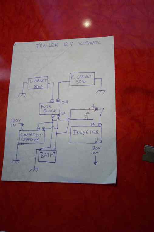 12 volt wiring diagram for trailer vw polo radio repairingyesterdaystrailers