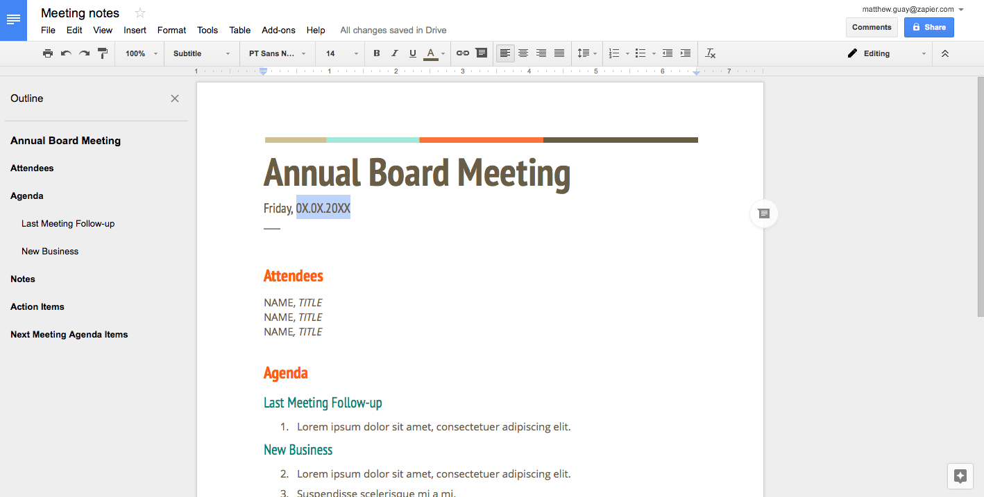 How to Create a Fillable Template in Google Docs  How to Do Anything in Apps  Zapier