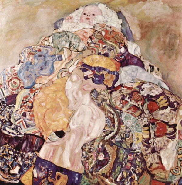 Gustav Klimt Baby