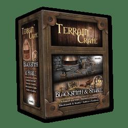 Terrain Crate Blacksmith & Stable Fantasy Town D&D DND Dungeons & Dragons THG 5060469666327 eBay