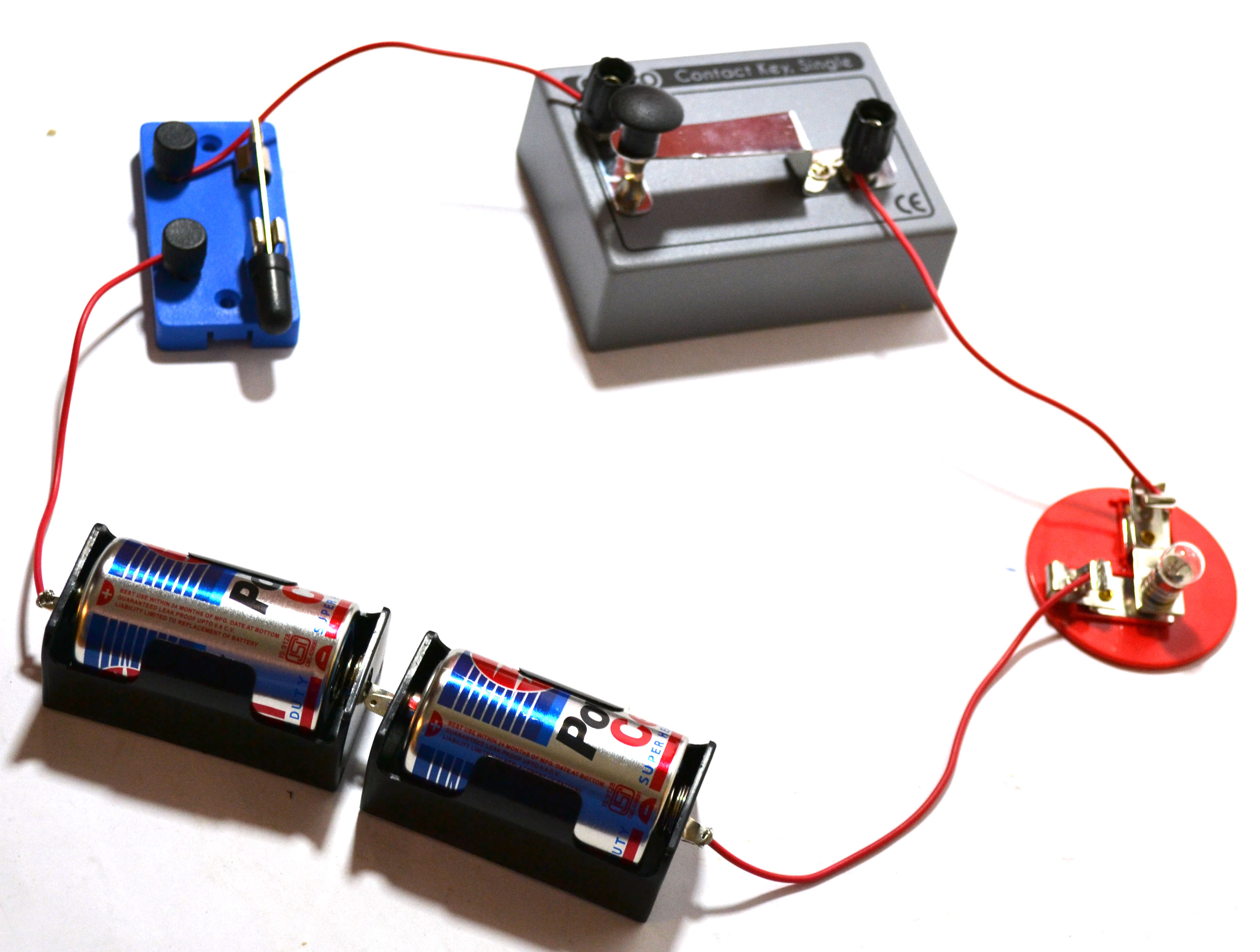 Eisco Basic Circuit Diy Kit Teaches Principles Of Circuitry And