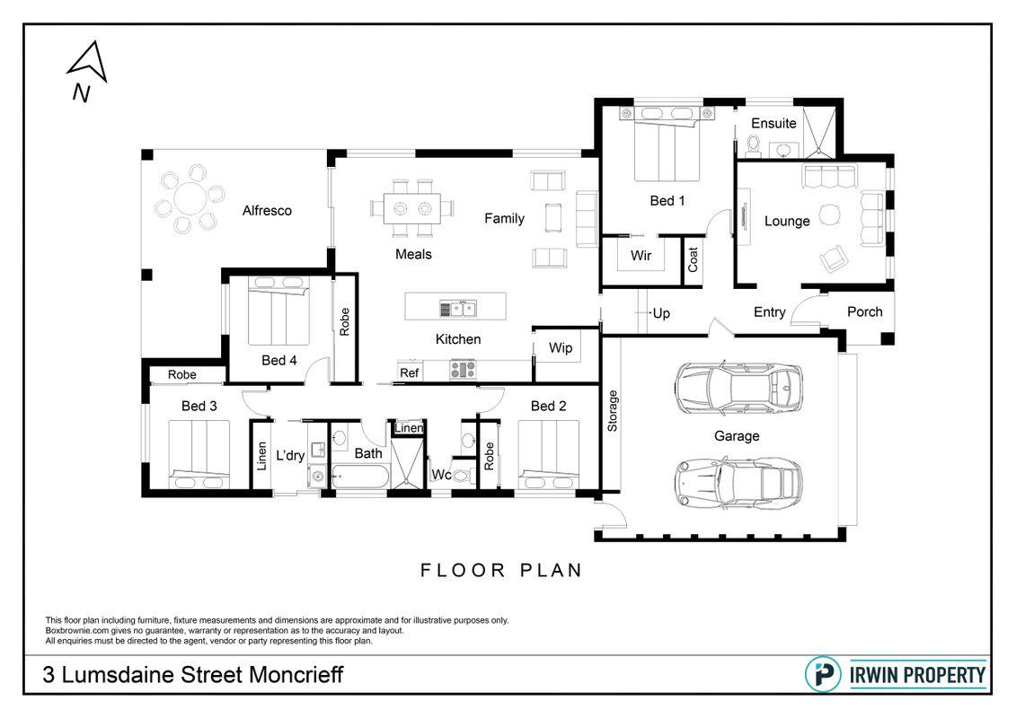 Irwin Property :: 3 Lumsdaine Street, Moncrieff, ACT 2914