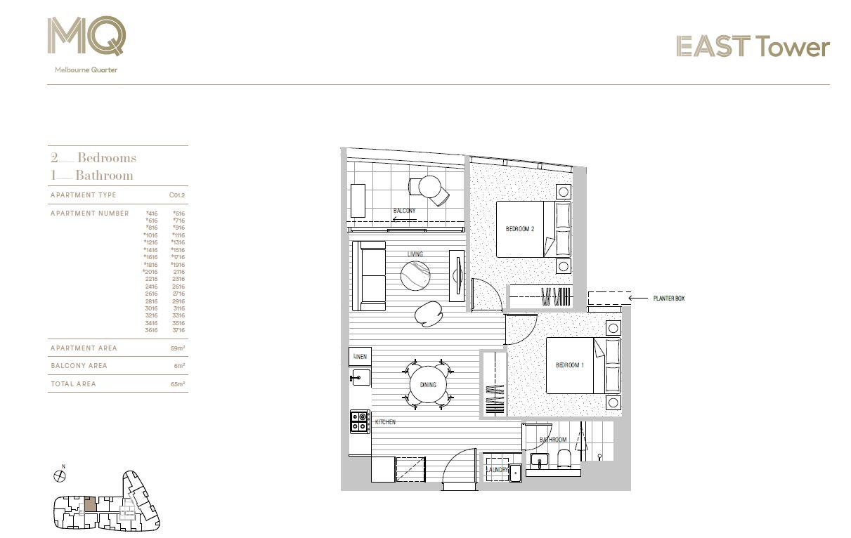 Ironfish Real Estate :: 1716/628 Flinders Street