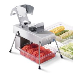 Kitchen Dicer Slicer Outdoor Grill Edlund 354 - Electric Vegetable And Fruit 1/4 ...