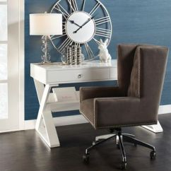 Z Gallerie Office Chair Big Overstuffed With Ottoman Inspiration Jett Logan