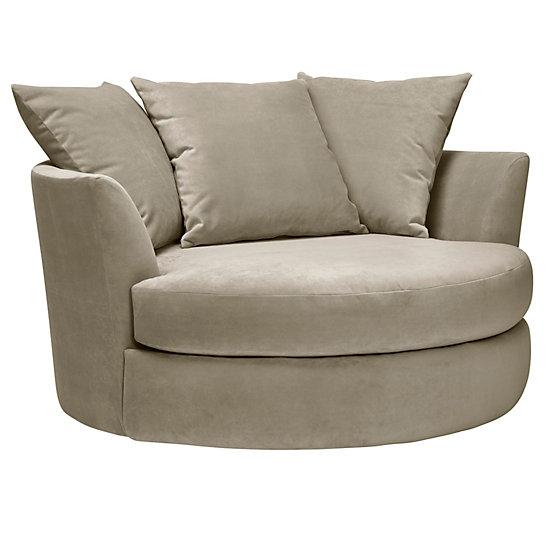 swivel cuddle chair york ergonomic knee rest cuddler cozy round z gallerie