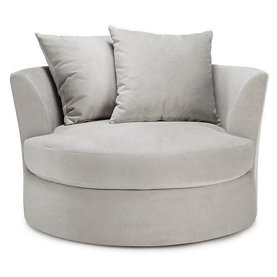 microfiber office chair rocking fine woodworking cuddler   cozy, round cuddle z gallerie