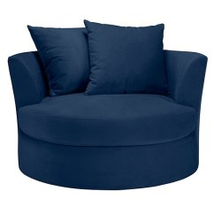 Swivel Cuddle Chair York Wood And Leather Executive Office Chairs Cuddler Cozy Round Z Gallerie