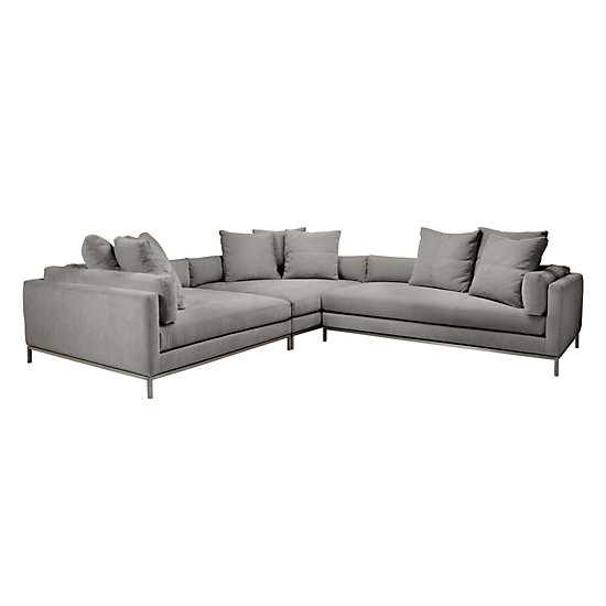 del mar custom sectional sofa batting z gallerie leather reviews 40 best sofas images on ...