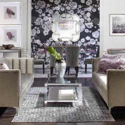 living rooms modern design ideas long narrow room furniture inspiration z gallerie crestmont savoy glam