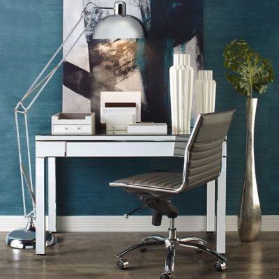 z gallerie office chair desk parts inspiration cerulean