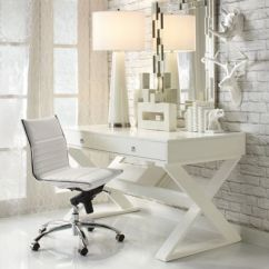 Z Gallerie Office Chair Wheelchair Nitro Circus Inspiration White On
