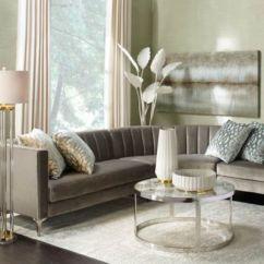 Inspiration For Living Room Dark Wood Furniture Z Gallerie Crestmont Sectional
