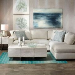Gray And Turquoise Living Room Benches For India Furniture Inspiration Z Gallerie Del Mar Eucalyptus