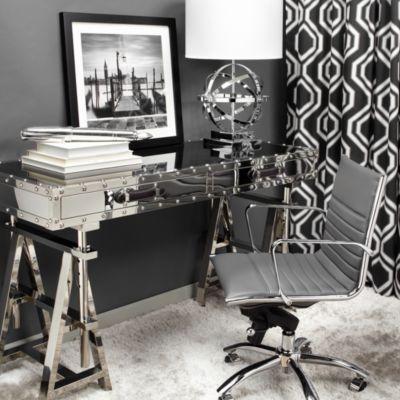 z gallerie office chair reupholster cost inspiration modern