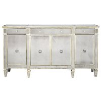 Mirrored Buffet | Glamorous Borghese Buffet | Z Gallerie