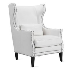 Z Gallerie Chairs Cafe Style Wooden Davis Accent Chair Leather Furniture
