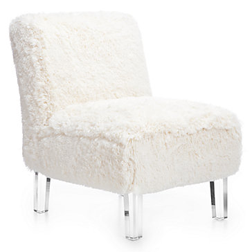 z gallerie chairs high backed dining uk ludlow chair faux fur