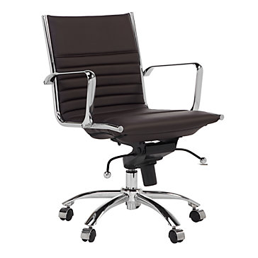 z gallerie office chair futon sleeper bed malcolm desk brown chairs home furniture