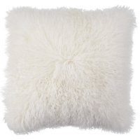 White Mongolian Fur Pillow | Chic Accents & Decor | Z Gallerie