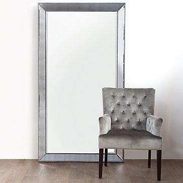 Omni Leaner Mirror Unique Framed Mirror Z Gallerie