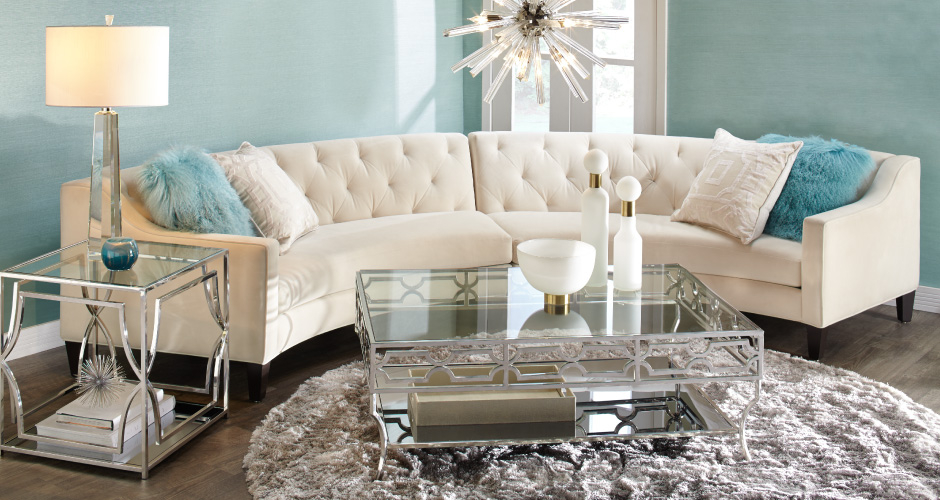 aqua sofa selections stylish home decor chic furniture at affordable prices z gallerie circa sectional living room inspiration