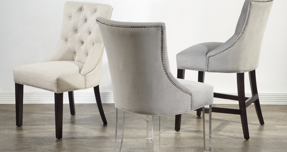 cool living room chairs shelves for wall dining chic sleek z gallerie