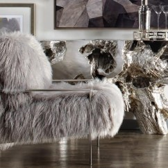Z Gallerie Chairs Bean Bag Chair Refill Canada Fur Decor & Furniture | Faux Mongolian Lamb